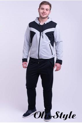 Мужской спортивный костюм Адвенд (серый) Оптовая Цена