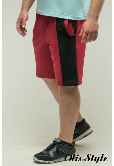 Мужские шорты Морган (бордовый) Оптовая Цена
