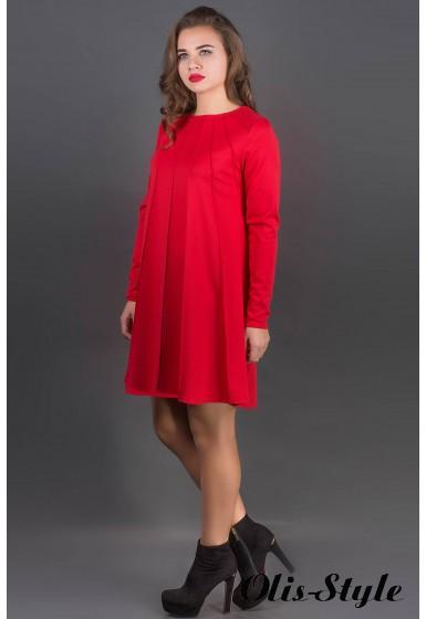 Платье Ситти (красный) Оптовая цена