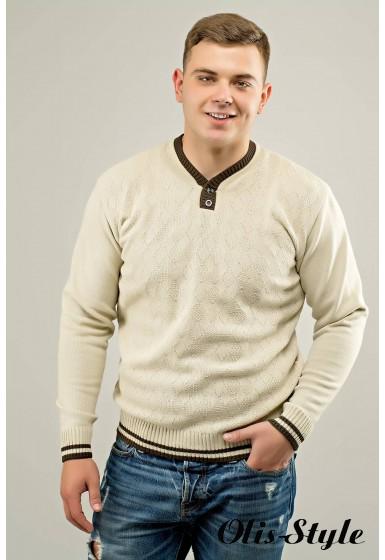 Мужской свитер Гомер (бежевый) оптовая цена