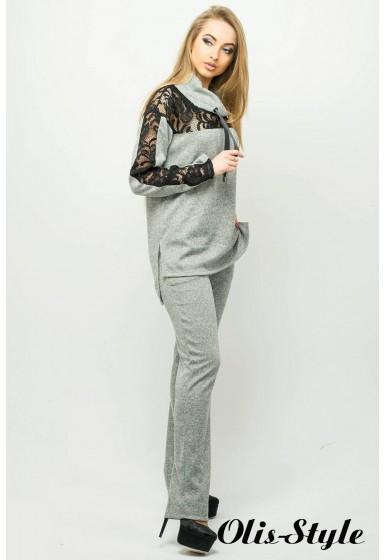 Спортивный костюм Надин (серый) Оптовая цена