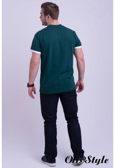 Мужская футболка Систен (зеленый) оптовая цена