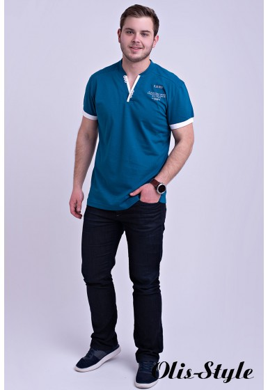 Мужская футболка Систен (бирюза) оптовая цена