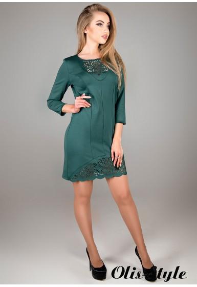 Платье Форина (зеленый) Оптовая цена