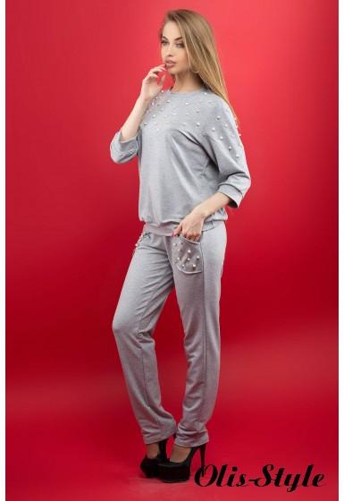 Спортивный костюм Тереза (серый) Оптовая цена
