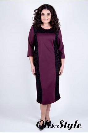 Платье Мелани (бордовый)