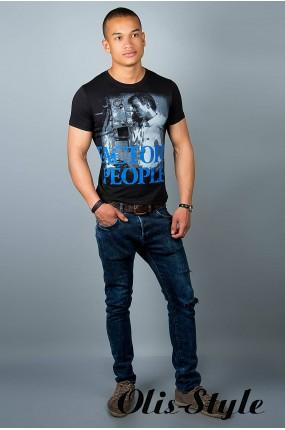 Мужская футболка (черная №21)   оптовая цена