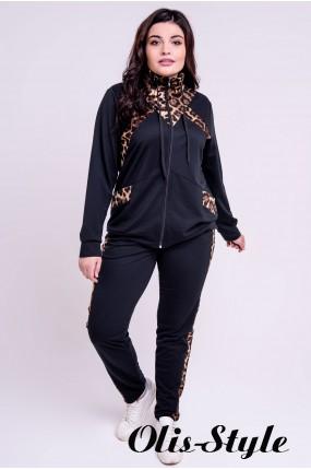 Спортивный костюм Альфа (черный) оптовая цена