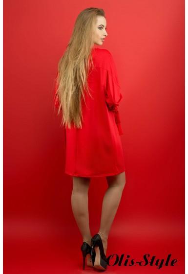 Платье Марис (красный) Оптовая цена
