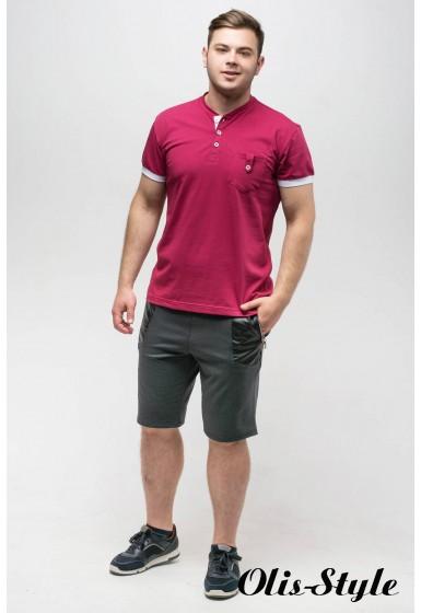Мужская футболка Филипп (бордовый)