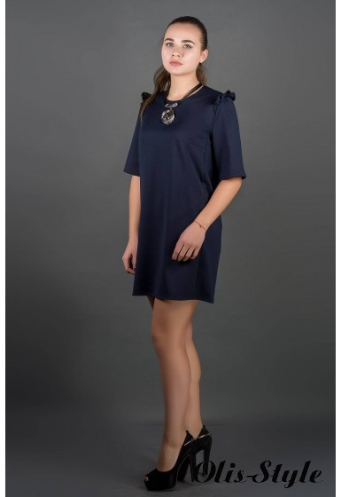 Платье Блуми (синий) Оптовая цена