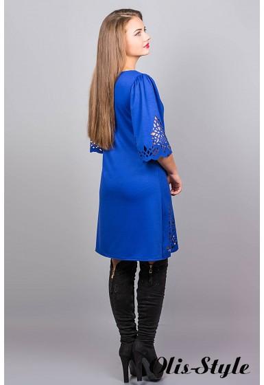 Платье Валенсия (электрик) Оптовая Цена
