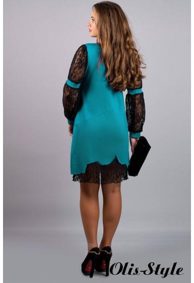 Платье Астра (бирюза) Оптовая цена