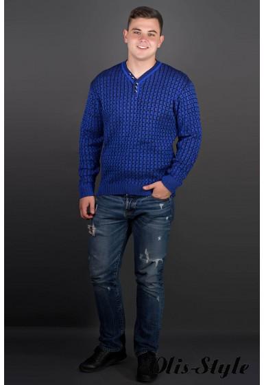 Мужской свитер Влад (электрик) оптовая цена