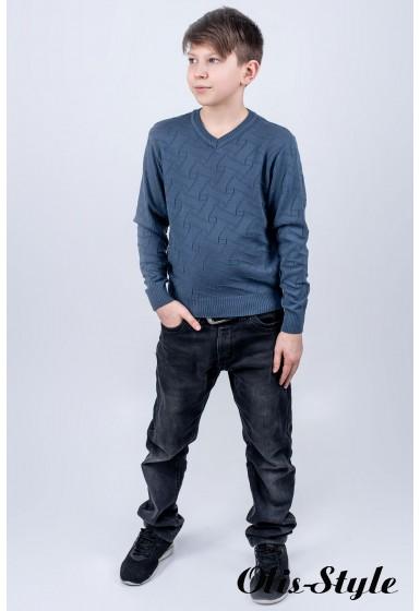 Детский свитер Гриша (серый)