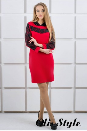 Платье Камита (красный) Оптовая цена