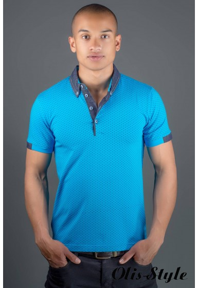 Мужская футболка Принт (бирюза) оптовая цена