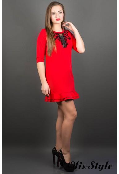 Платье Кураж (красный) ОПТОВАЯ ЦЕНА