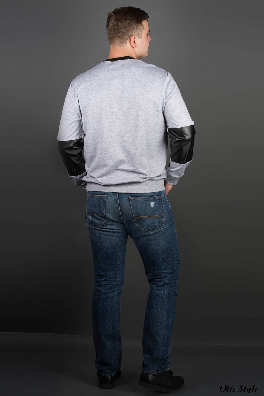 Мужская толстовка Эйстин (серый) оптовая цена