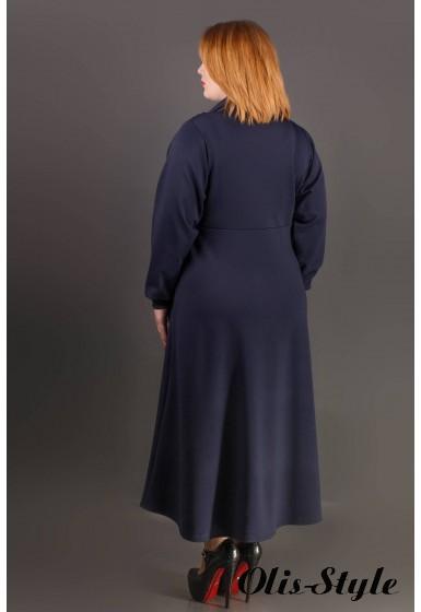 Платье Клеш (синий) Оптовая цена