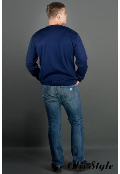 Мужской свитер Архимед (синий) оптовая цена