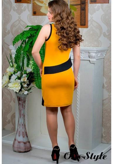 Платье Мидея (горчица) оптовая цена