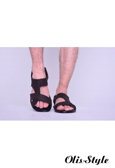 Мужские сандали 1991 (коричневый)