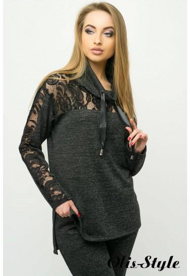 Спортивный костюм Надин (черный) Оптовая цена