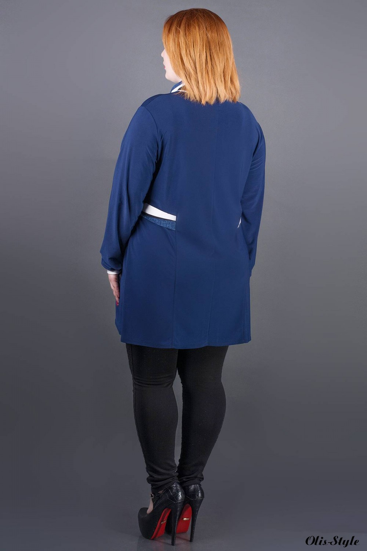 Туника Жаннет (синяя полоска) оптовая цена