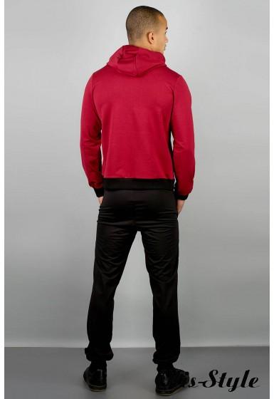 Мужской спортивный костюм Деним (бордовый) Оптовая Цена