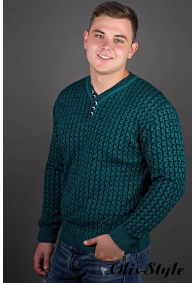 Мужской свитер Влад (морская волна) оптовая цена