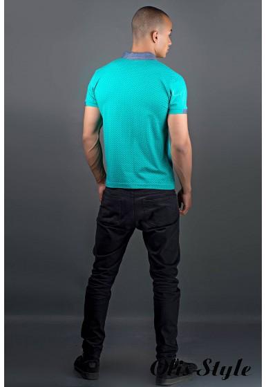 Мужская футболка Принт (морская волна) оптовая цена