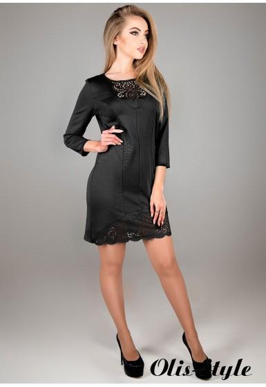 Платье Форина (черный) Оптовая цена