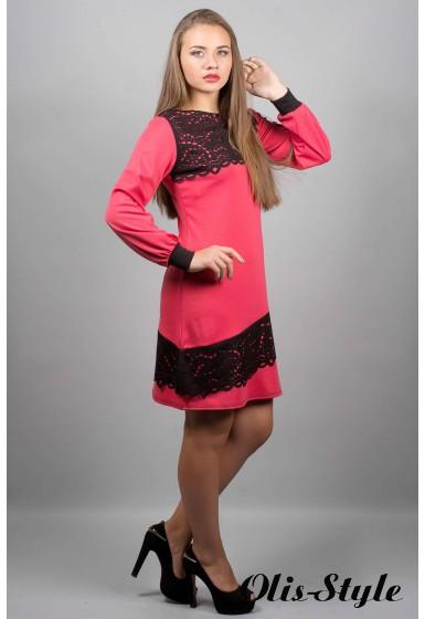 Платье Инди (коралл)  оптовая цена