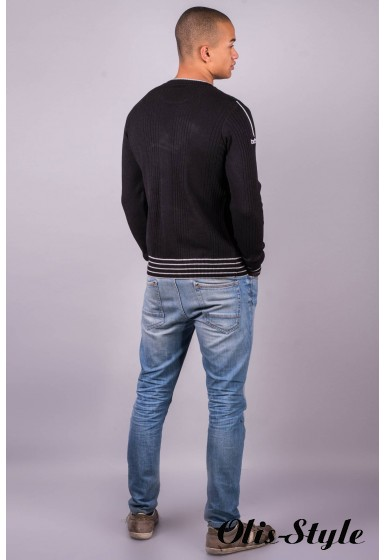 Мужской свитер 101 (черный )   оптовая цена