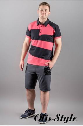 Мужская футболка Зидан (коралл) оптовая цена