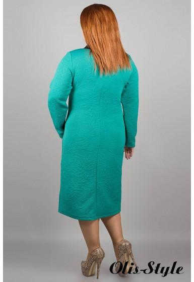 Платье Армель (бирюза)  оптовая цена