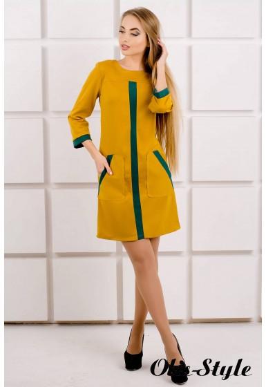 Платье Белинда (горчичный) Оптовая цена