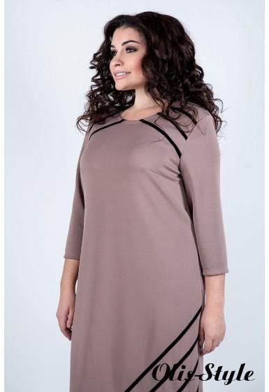 Платье Камелия (бежевый) Оптовая цена